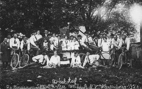 Standartenweihe der Soli im Jahre 1928
